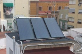 Placas solares en Almería